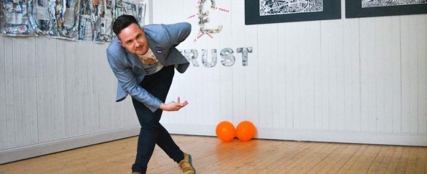 Funny and from Falkirk: Alan Bissett at The Canmore, Dunfermline