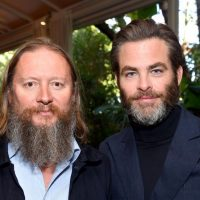 Hollywood's Chris Pine in Dunfermline for Netflix movie
