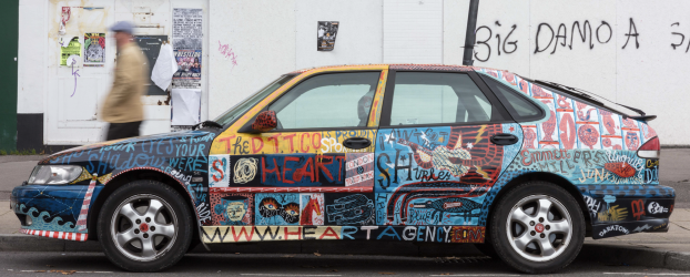 Taxi for Darktown! The brilliant Jonny Hannah has homecoming exhibition at FSC