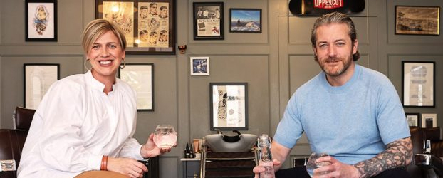 Pop up Gin Bar, Old Town Barber Club: Launch of '20 by Maygate Gin'
