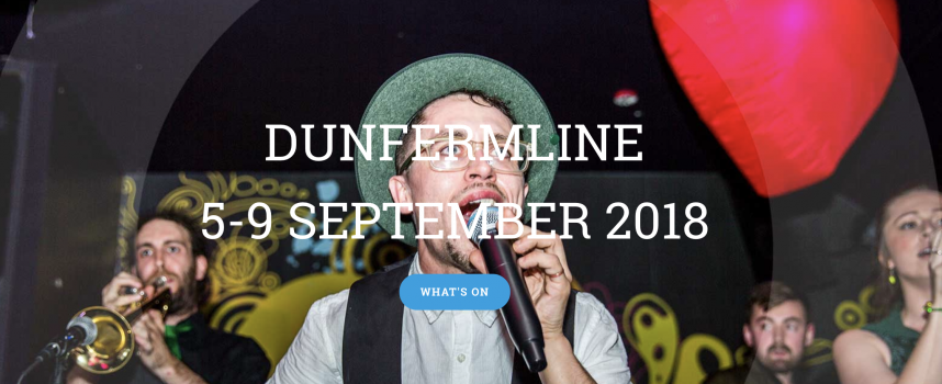 Dunfermline's Outwith Festival – 2018 website now live!