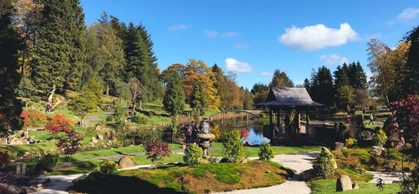 Japanese garden, Dollar inspires Culross exhibition